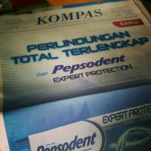 Iklan Pepsodent Expert Protection Di Kompas Dicky S Blog